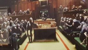 Scimmie al parlamento